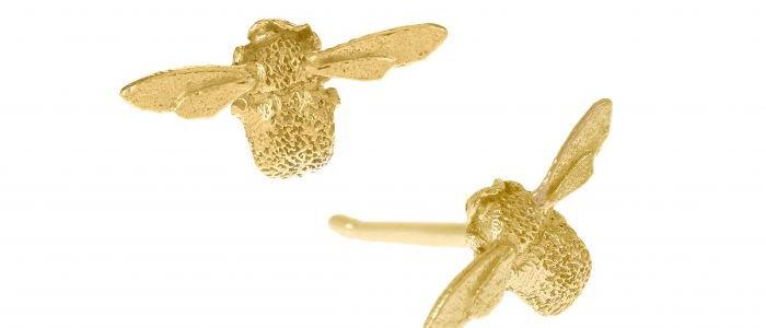 Teeny Weeny Bee Studs