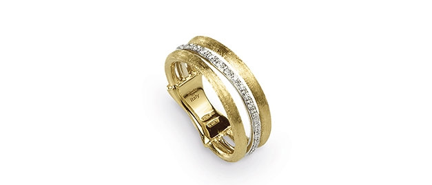 Jaipur Link 0.12ct Diamond Ring