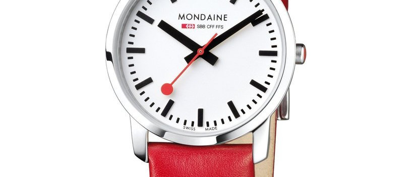 Simply Elegant 36mm Red Leather