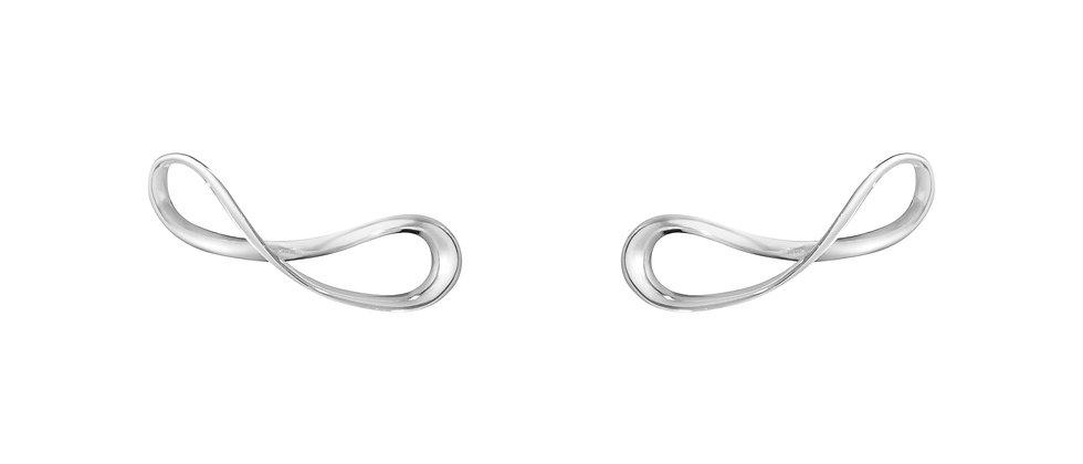 Infinity Earcuff Stud Earrings