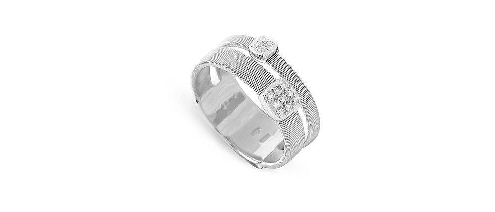Masai 2-Strand Diamond Ring 0.10ct
