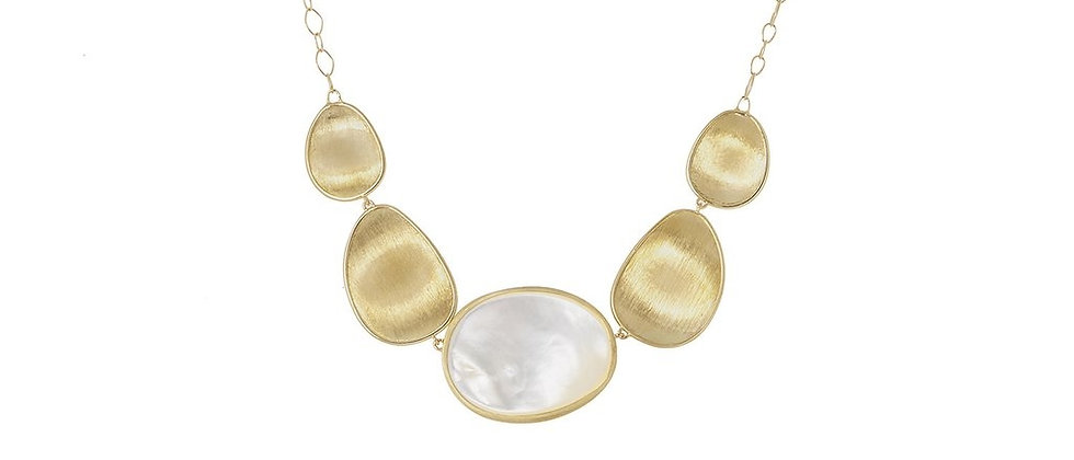Lunaria White Mother of Pearl Necklace