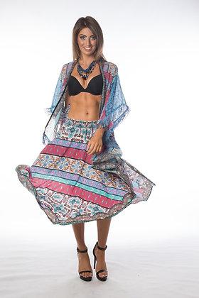 Boho Uzbek Skirt