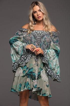Tezanee Frill Dress