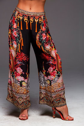 Let Your Soul Fly Palazzo Pants