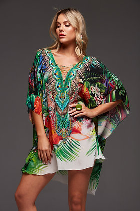 Escape to Paradise Butterfly Top