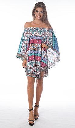 Boho Uzbek Dress 4 Way