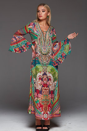 It was a Dream Maxi Dress with Sleeves