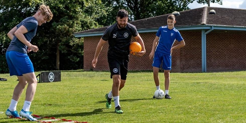 October Half Term Soccer School