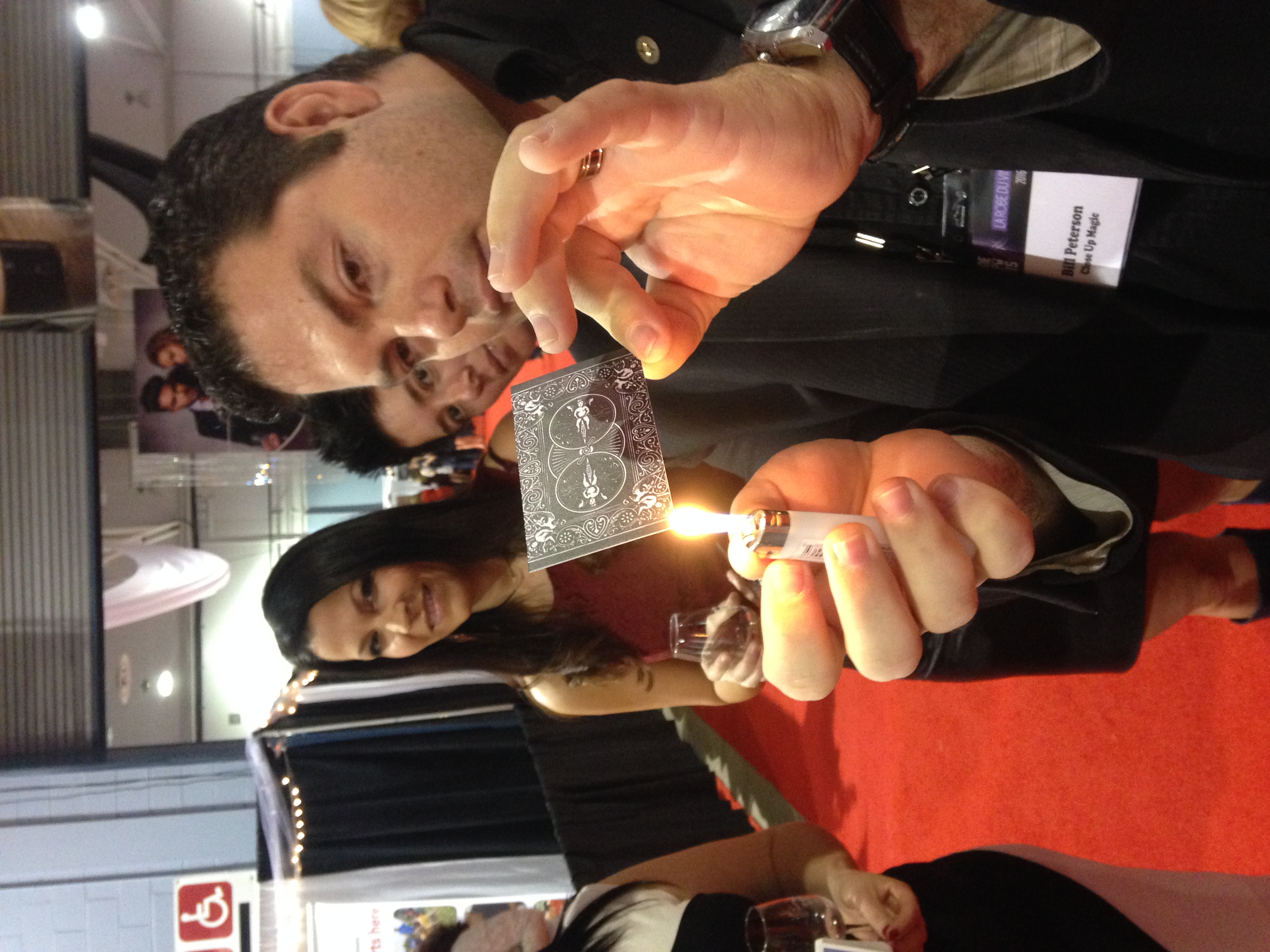 Fire Magic at Wine Expo