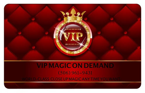 vip magic on demand