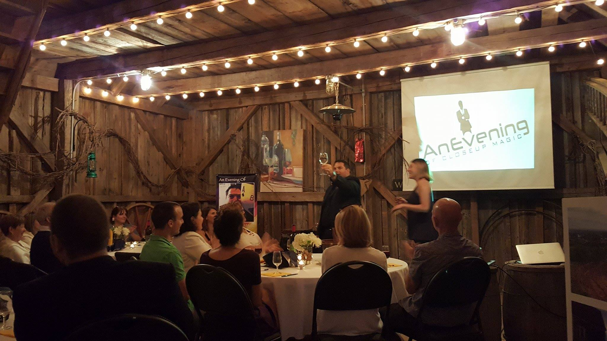 Magnetic Hill Winery Magic Show