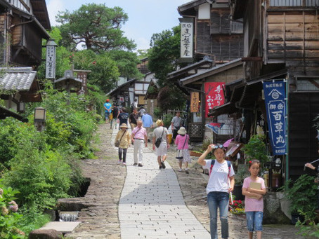 A day trip from Matsumoto to Kiso Valley