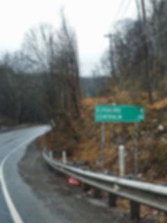 The road to Centralia
