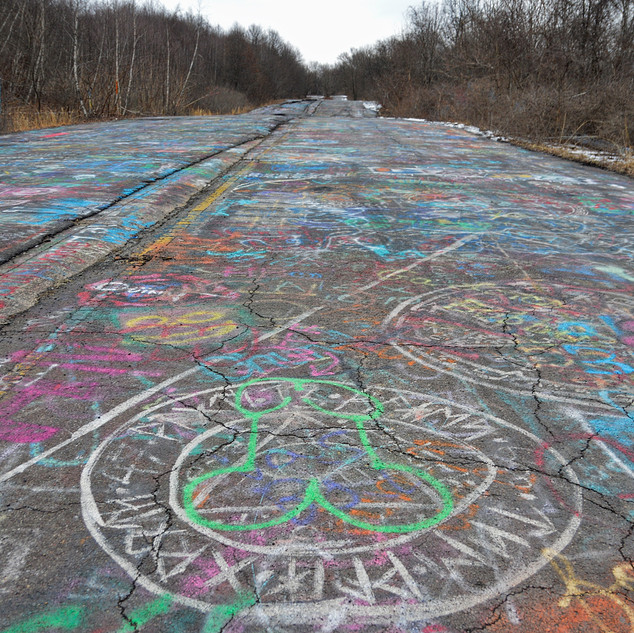 Centralia Graffiti Highway