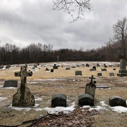 St. Ignatius Cemetery in Centralia