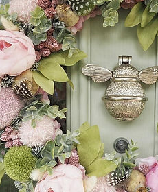 Brass Bee Door Knocker Just N So Kirkby