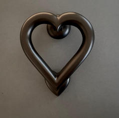 Love Heart - Black Finish