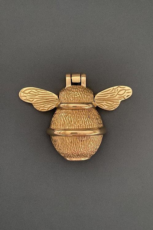 Brass Bee Door Knocker - Brass Finish