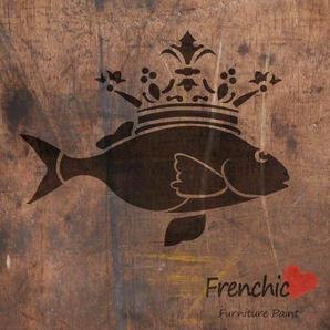 The Fish Prince Stencil