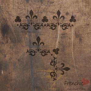 Lace Petticoat Stencil