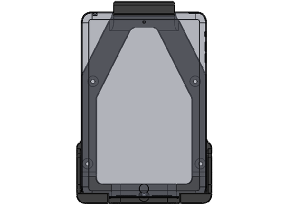iPad Mini Mount Gen 1 - 3 Vertical Orientation