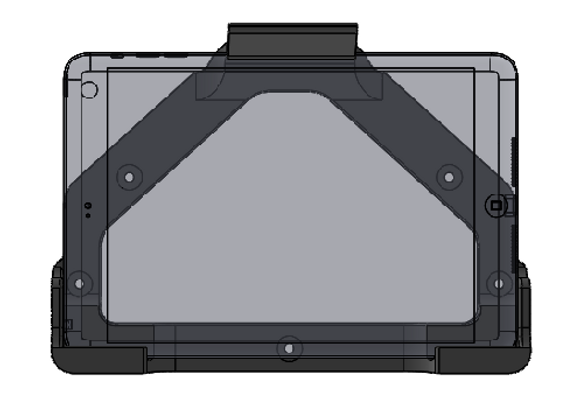 iPad Mini Mount Gen 1 - 3 Horizontal Orientation