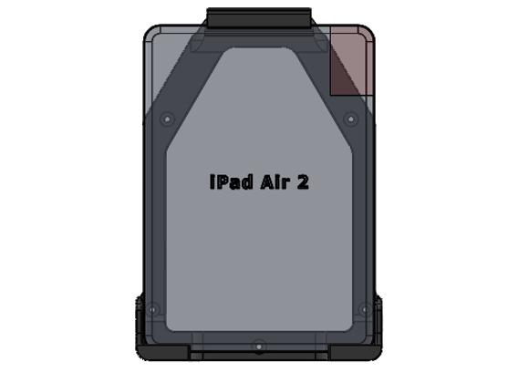 iPad Air 2 Mount Gen Vertical Orientation