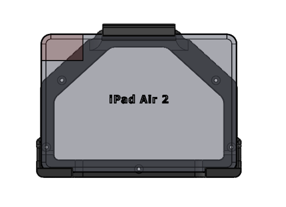iPad Air 2 Mount Gen Horizontal Orientation