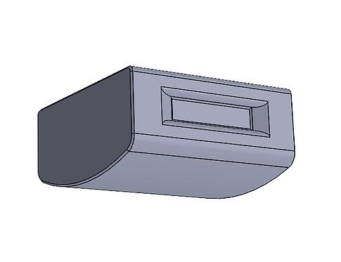 RV-14 Canopy Sanding Block - 3 inch length