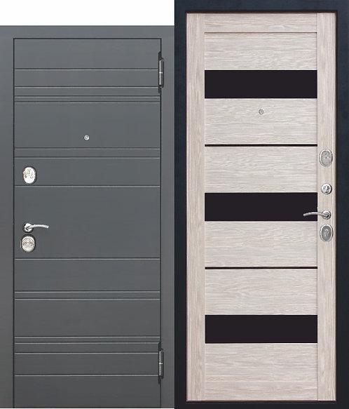 Металлическая дверь 10,5 см ЧАРЛСТОН Царга ГЛЯНЕЦ МОККО