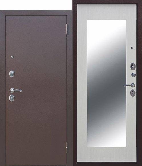 Железная дверь Царское зеркало МАКСИ Белый ясень
