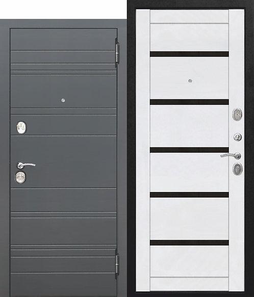 Металлическая дверь 10,5 см ЧАРЛСТОН Царга БЕЛЫЙ ГЛЯНЕЦ