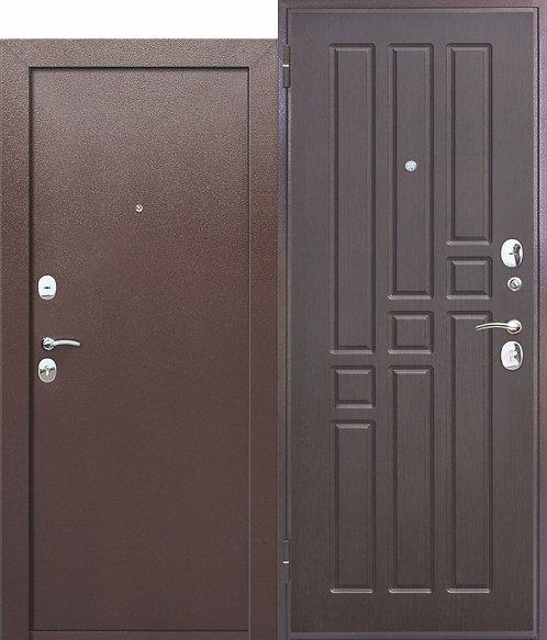 Недорогая дверь Гарда ВО 2 замка Венге. Внутреннее открывание