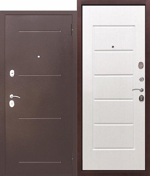 Недорогая дверь 7,5 Гарда Белый ясень