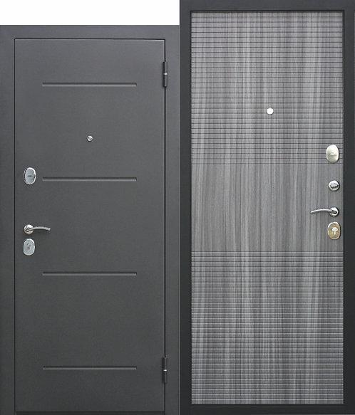 Недорогая дверь 7,5 см Гарда МУАР Венге тобакко