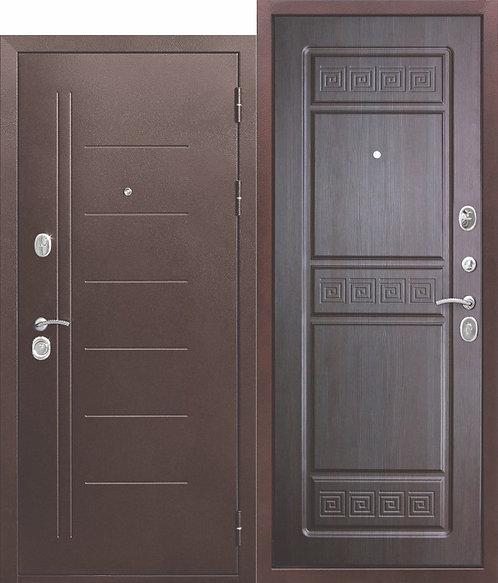 Надежная дверь 10 см Троя Антик Венге