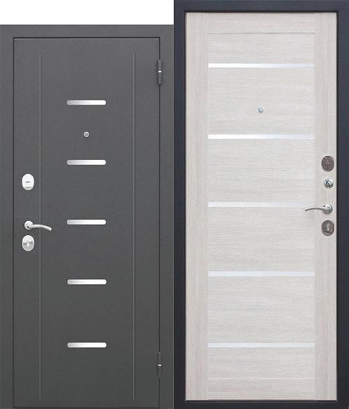 Недорогая дверь 7,5 Гарда Муар ЦАРГА Лиственница беж