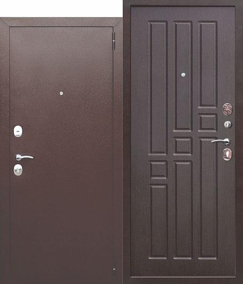 Недорогая дверь Garda 8 мм Венге