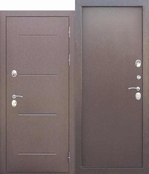 Входная дверь c ТЕРМОРАЗРЫВОМ 11 см ISOTERMA Медный антик Металл/Металл