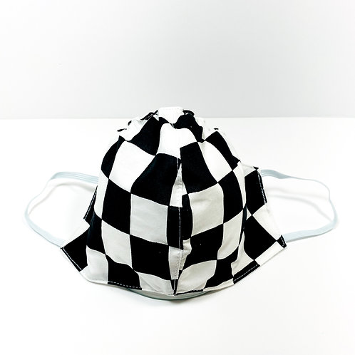 Checkered Pattern Protective Mask