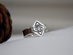 Inner Truth - Sterling Silver Ring