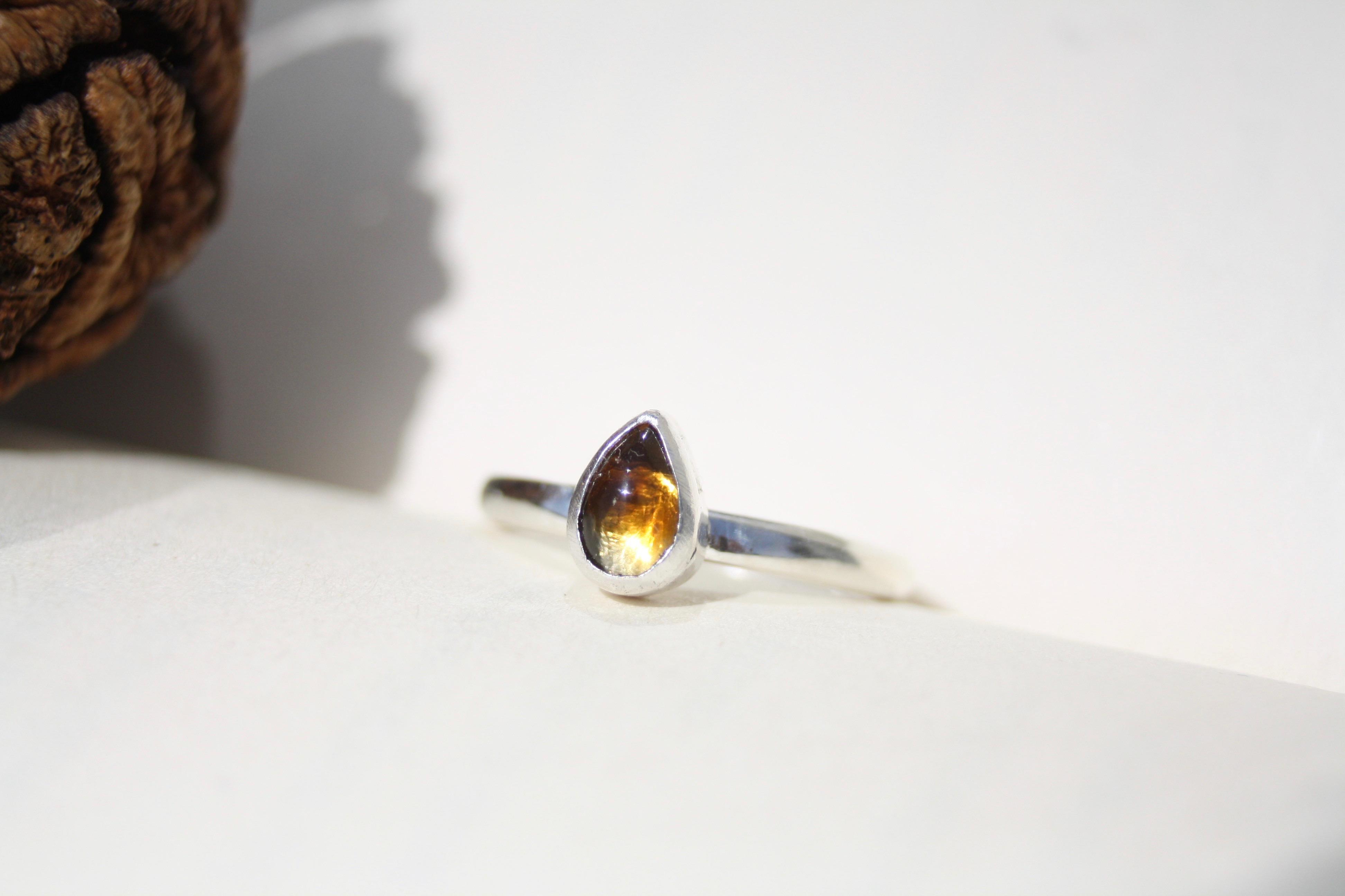 Golden Sun - Citrine Ring