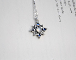 Amor Fati - Moonstone and Kyanite Necklace