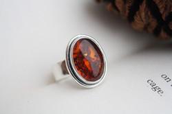 Odyssey - Amber Ring