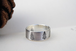 Nature Is My Home - Eco Sterling Silver Ring