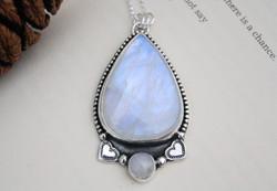 Moonstone Ocean Necklace