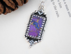The Muse - Purple Mojave Turquoise Necklace