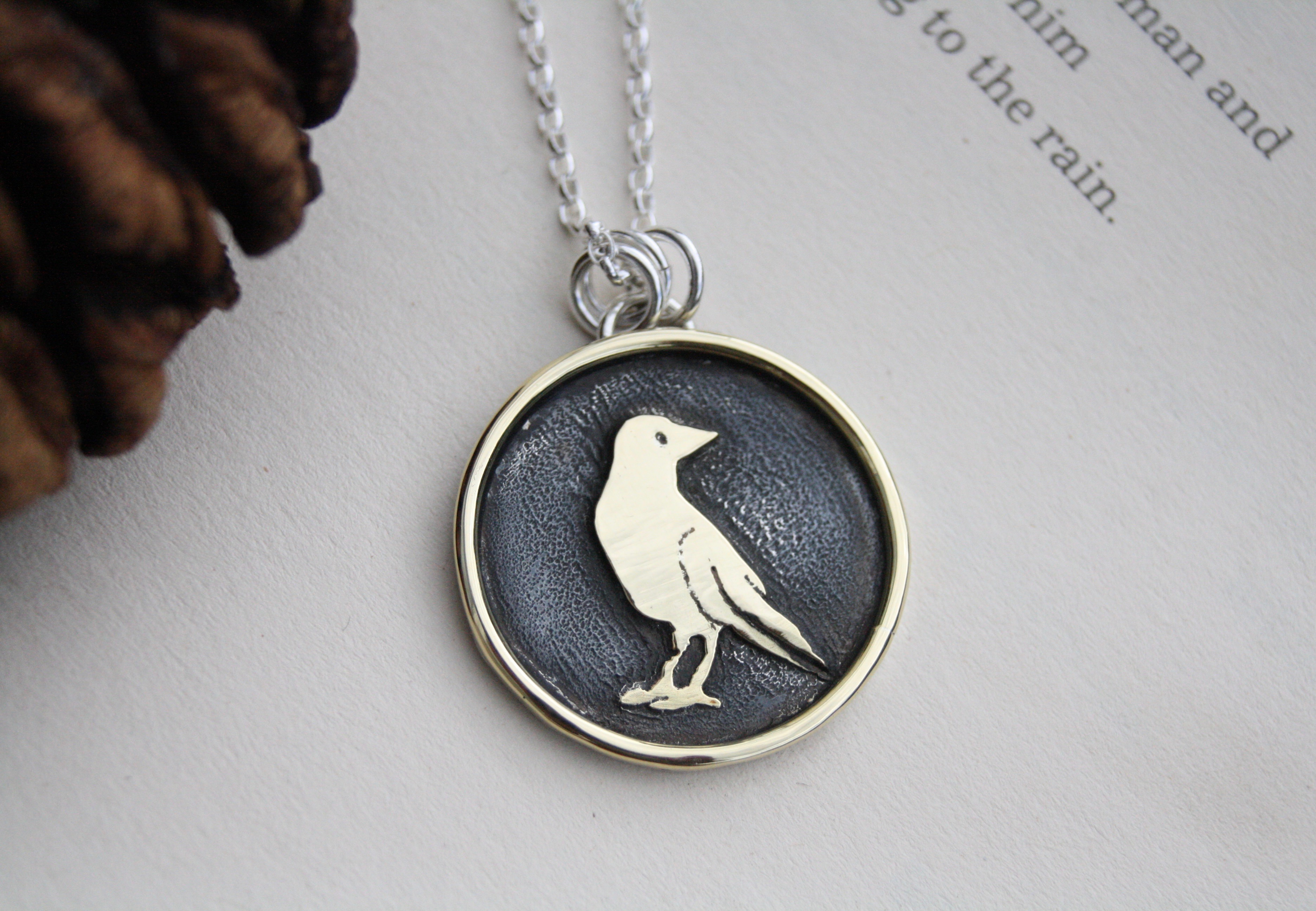 Harsh Realm - Silver and Brass Necklace