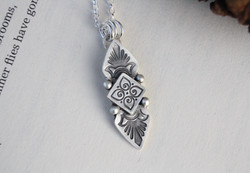 Inner Truth - Sterling Silver necklace